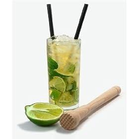 Scanwood Beechwood Cocktail & Bar Wooden Mojito Muddler