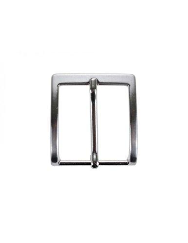 ultima selezione stile alla moda vendita calda autentica La Bottega del Calzolaio Fibbia per cinture nichel free anallergica 3 cm