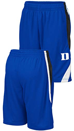 NCAA Youth Team Color Rio Polyester Athletic Shorts (L=16/18, Duke Blue Devils) ()
