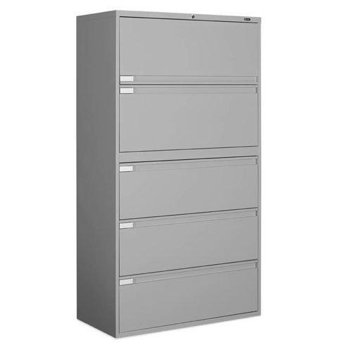 9300P Series Lateral File – 42X18x65-1/4″ – Light Gray – Light Gray