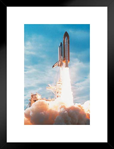Poster Foundry United States Space Shuttle Explosive