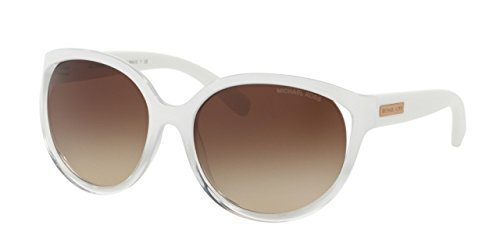 Michael Kors Mitzi II Cat Eye Sunglasses White Gradient