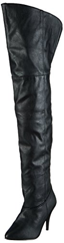 Pleaser Legend-8868 - Botas Mujer Negro (Blk Faux Leather)