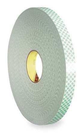 Double Sided Tape, Urethane Foam, 3/4 in,