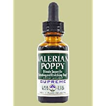 Valerian Poppy Supreme, 1 oz by Gaia Herbs (Pack of 2)