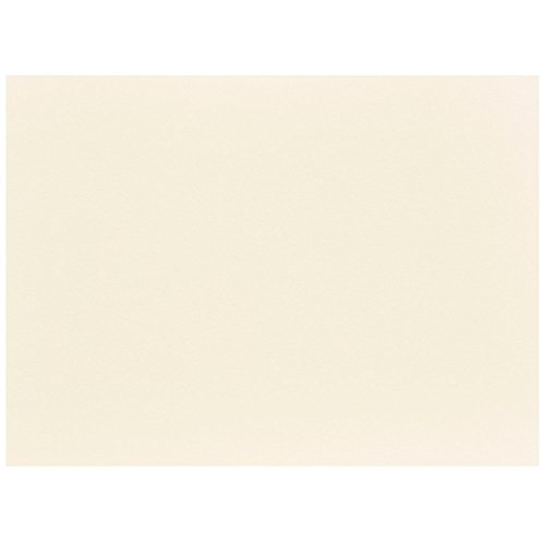 JAM PAPER Blank Flat Note Cards - 5 1/8 x 7 (Fits in A7 Envelopes) - Ivory - 50/Pack