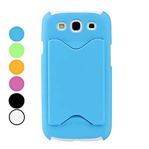 Multi-Function Dull Polish Case for Samsung Galaxy S3 I9300 (Assorted Colors) --- COLOR:Orange
