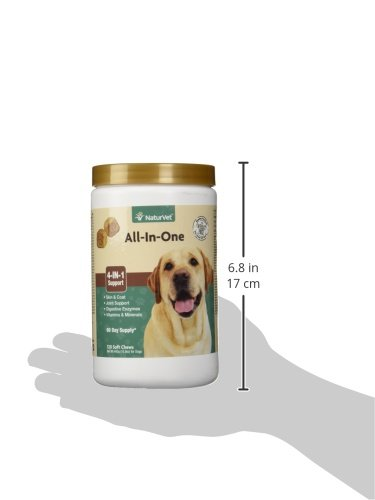NaturVet All in One Dog softer Chew Probiotics