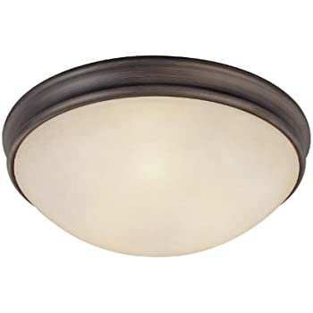 Amazon.com: CAPITAL iluminación 2820 4 luz Flush Mount ...