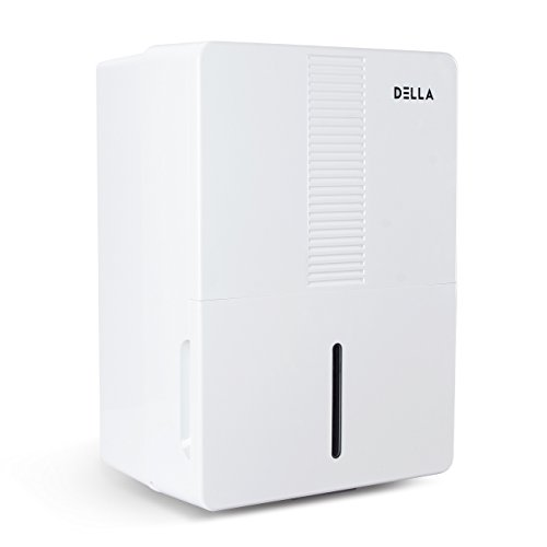 DELLA Humidify Control Energy Star Certified Mini Portable Dehumidifier Fan for Home Living Room Kitchen Basements, 70 Pint