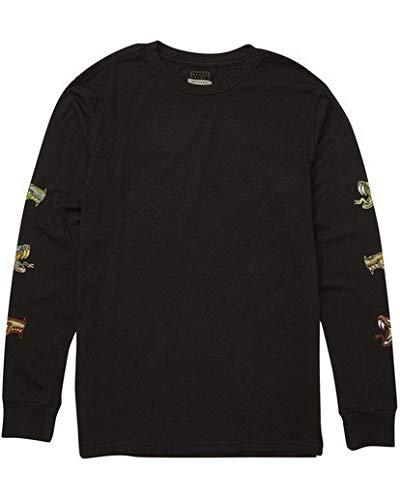 (Billabong Men's Viper Long Sleeve T-Shirt Black Medium )