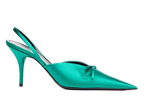 Balenciaga Verde Tacco 516751w0wm03706 Con Scarpe Donna Tessuto r6w1xSrnq
