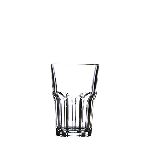 GRANITY Water/Beverage HIGHBALL Glasses Set, ARCOROC, 12 Oz (6) ()
