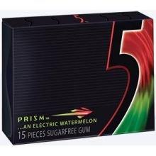 5 Gum Prism Sugar Free - 10 per pack -- 12 packs per - Ingredients Gum 5