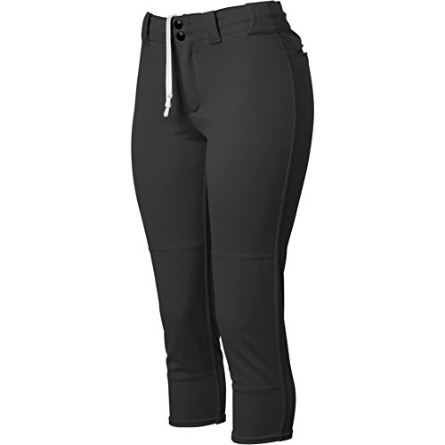DeMarini Womens Fierce Belted Pant, Black, Small