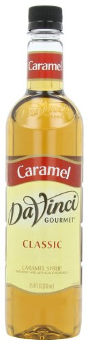 DaVinci Gourmet Classic Syrup, Caramel, 25.4-Ounce Bottles (Pack of 3)