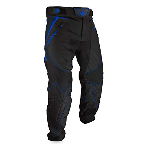 Bunker Kings V2 Supreme Paintball Pants (Medium (MD), Royal Blue) (Paintball Professional Pants)
