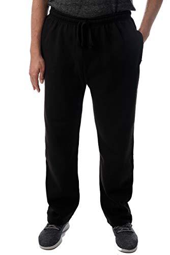 At The Buzzer Mens Sweatpants for Men 34972-BLK-M Black