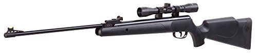 Crosman CPNP22SX Phantom NP Synthetic Stock Nitro Piston Hunting Air Rifle with 4x32 Scope (.22-Caliber) Barrel Synthetic Stock