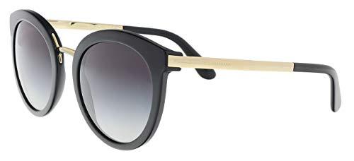 D&G Dolce & Gabbana Women's 0DG4268 Square Sunglasses, Black Gradient, 52 ()