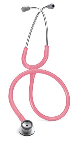 Infant Stethoscope - 3M Littmann Classic II Infant Stethoscope, Pearl Pink Tube, 28 inch, 2120 (Renewed)