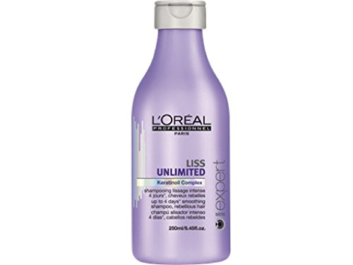 Amazon.com : Loreal Liss Unlimited Keratinoil Complex Smoothing Shampoo 8.45 oz : Hair Shampoos : Beauty