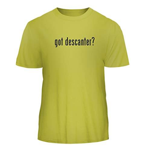 - Tracy Gifts got Descanter? - Nice Men's Short Sleeve T-Shirt, Yellow, Medium