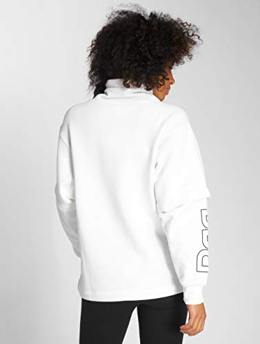 Reebok Donna Ac Bianco Oversized maglia Maglieria ZZzwdBrx