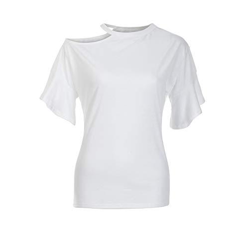 maniche cotone casual traspirante a lunghe maniche Seworld mano Maglietta Comodo bianco cucitura in lunghe con setoso cotone a in con EwRXxxqfd