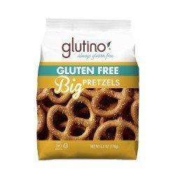 Glutino Gluten Free Big Pretzels [3 Pack] by Glutino