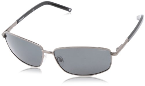 Polaroid X4403S Polarized Aviator Sunglasses,Gunmetal & Gray Polarized,64 - Polariod Glasses