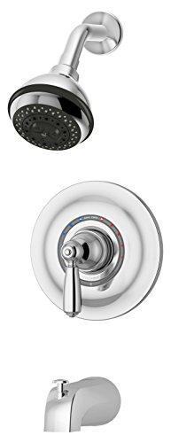 Symmons 4702-TRM Allura Tub/Shower Trim in Chrome -