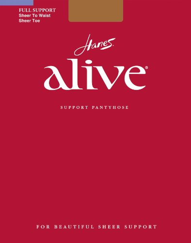 Hanes Silk Reflections Women's Alive Sheer To Waist Support Pantyhose, So Pacific, (Hanes Alive Hosiery)