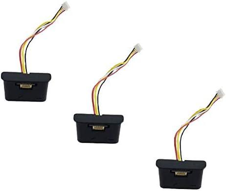 EPIEZA Sensores de caída (x3) para Cecotec Conga Excellence 990. Evita la caida de su aspiradora por Las escaleras: Amazon.es: Hogar