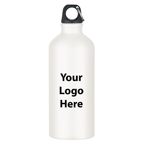 20 Oz. Aluminum Bike Bottle - 36 Quantity - $3.49 Each - PROMOTIONAL PRODUCT / BULK / BRANDED with YOUR LOGO / CUSTOMIZED. Size: (Identity Stainless Water Bottle)