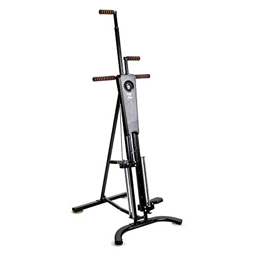 ZELUS Vertical Climber Machine Fitness Step Climbing Exercise Machine Equipment for Home Gym Step Climber Exercise
