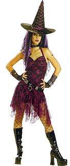 Rockin' Witch Toddler Costumes (Goth Rockin Witch)