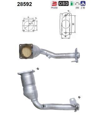 f/ür Abgasanlage Katalysator Katalysator u.a Preishammer Peugeot