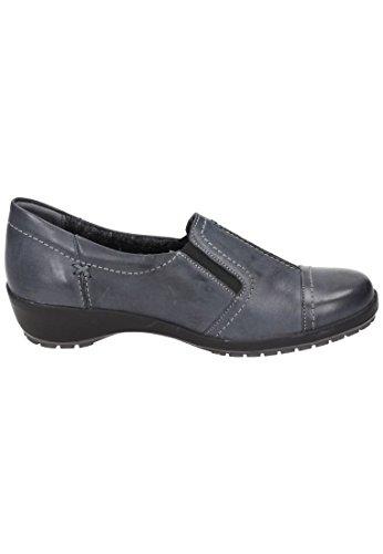 Comfortabel Damen-Slipper Grau 942137-9, Gr. 36