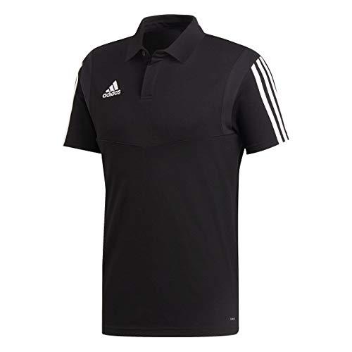 Uomo Nero bianco Co Polo Adidas Tiro19 Shirt I1T8T6