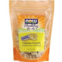 NOW Foods – Healthy Foods Cashew Crunch Clusters Dry Roasted All Natural Snack – 9 oz. ( Multi-Pack)