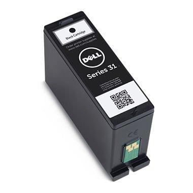 Genuine Dell Series 31 (V525W/V725W) Black Ink Cartridge Dell Inkjet Cartridge