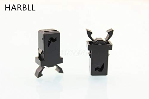 Fastener & Clip Huscus 2pcs Apply sea Horse M5 Primal car Glasses Box Reading lamp Ashtray retaining Clip Spring - Horse Primal