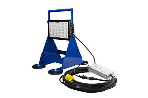 Larson Electronics BML-150LED-LV-50-S 150W LED Pedestal/Magnetic Mount Work Area Light - Inline Transformer - 14,790 lm - 50' (Spot)