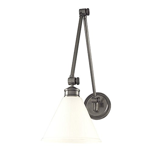 Hudson Valley Lighting 4731-AN Exeter One Light Wall Sconce In Antique Nickel - Hudson Valley Lighting Nickel Antique Sconce
