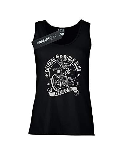 Mujer Negro Club Sin Drewbacca Mangas Extreme Camiseta Bicycle 60dwqBxF