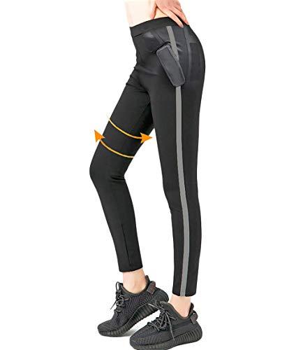 ROOTOK Leggings Dimagrante Donna Fitness, Pantaloni Tuta Donna, Leggings Anticellulite in NANOTECHNOLOGIE per…