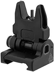 UTG ACCU-SYNC Spring-Loaded AR15 Flip-up Front Sight, Black