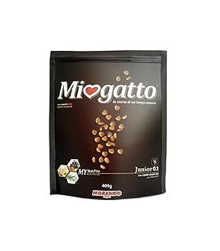 Morando Pienso Comida Gato seco miogatto Super Premium Carni Blancas Junior 400 gr: Amazon.es: Productos para mascotas