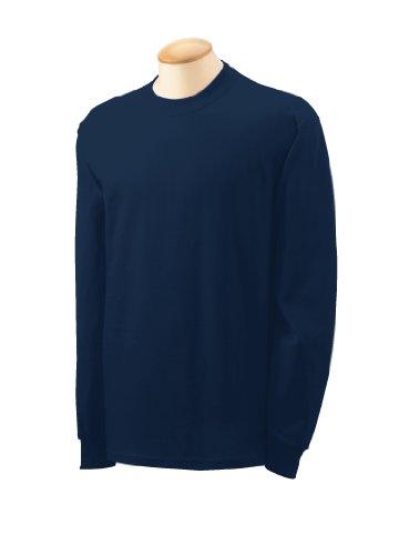 Gildan G540 5.3 Oz. Heavy Cotton Long-Sleeve T-Shirt - Navy
